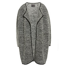 Buy Minimum Afina Trim Cardigan, Grey Online at johnlewis.com