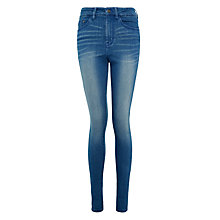 Buy Waven Anika Super Skinny Jeans, Perfect Blue Online at johnlewis.com