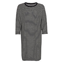Buy Minimum Beah Dress, Black/White Online at johnlewis.com