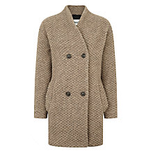 Buy BZR Ana Bubble Coat, Beige Online at johnlewis.com