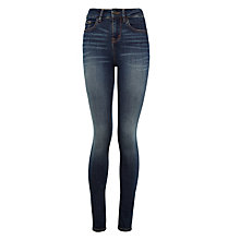 Buy Waven Asa Classic Skinny Jeans, Trash Blue Online at johnlewis.com