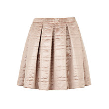 Buy BZR Circe Quilted Skirt, Pink Online at johnlewis.com