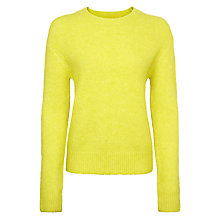 Buy Samsoe & Samsoe Eta Jumper, Sulphur Online at johnlewis.com