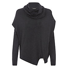 Buy Supertrash Kachire Zip Cowl Neck Jumper, Granite Online at johnlewis.com