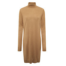 Buy Minimum Manda Longline Top, Camel Online at johnlewis.com