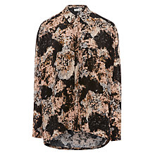 Buy Numph Bea Abstract Print Shirt, Misty Rose Online at johnlewis.com