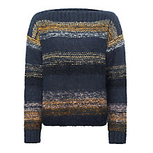 Buy Numph Charlie Stitch Jumper, Blueberry Online at johnlewis.com