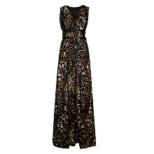 Buy Supertrash Daisy Maxi Dress, Gold Phoenix Online at johnlewis.com