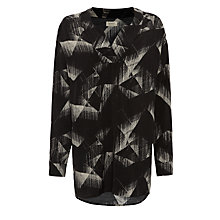 Buy Numph Judy Etch Print Tunic, Caviar Online at johnlewis.com
