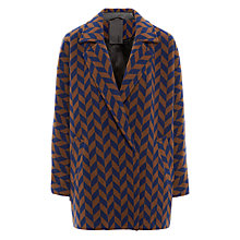 Buy Minimum Nuka Chevron Coat, Camel Online at johnlewis.com