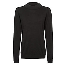 Buy Numph Myra Turtle Neck Jumper, Caviar Online at johnlewis.com