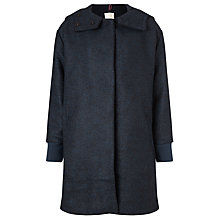 Buy Numph Nelly Coat, Gargoyle Melange Online at johnlewis.com