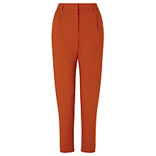 Buy Samsoe & Samsoe Stamford Trousers, Caramel Online at johnlewis.com