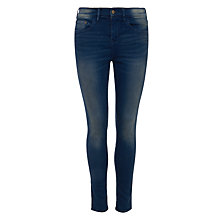 Buy Waven Freya Skinny Ankle Grazer Jeans, Hick Blue Online at johnlewis.com
