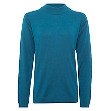 Buy Numph Myra Turtle Neck Jumper, Ink Blue Online at johnlewis.com