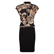 Buy Numph Shiloh Abstract Dress, Misty Rose Online at johnlewis.com