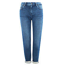 Buy Waven Tor Slim Boyfriend Jeans, Thames Blue Online at johnlewis.com