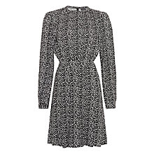 Buy Minimum Tanni Printed Dress, Black Online at johnlewis.com