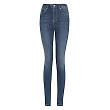 "Buy Supertrash Paradise 31"" High Waist Jeans, Blue Online at johnlewis.com"