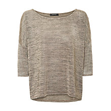 Buy Supertrash Todros Jersey Top, Biscuit Melange Online at johnlewis.com