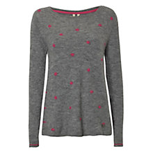 Buy White Stuff Cha Cha Jumper, Grey Marl Online at johnlewis.com