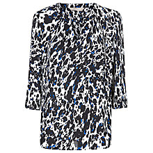 Buy Planet Animal Print Blouse, Multi Cream Online at johnlewis.com