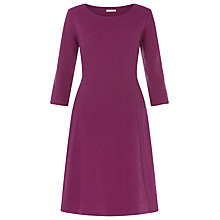 Buy Kaliko Textured Ponte Dress, Mid Pink Online at johnlewis.com