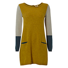 Buy White Stuff Barnie Tunic Dress, Yellow Online at johnlewis.com