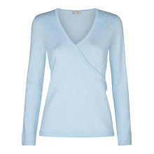 Buy Planet Cross Over Jumper, Pastel Blue Online at johnlewis.com