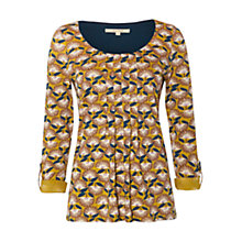 Buy White Stuff Dance Hall T-Shirt, Yellow Online at johnlewis.com