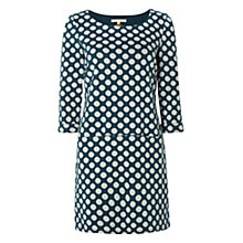 Buy White Stuff Dance On The Spot Tunic Dress, Teal Online at johnlewis.com