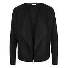 Buy Planet Milano Stitch Cardigan, Black Online at johnlewis.com