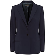Buy Jaeger Lapel Jacket, Midnight Online at johnlewis.com
