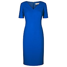 Buy Planet V-Neck Shift Dress, Cobalt Online at johnlewis.com