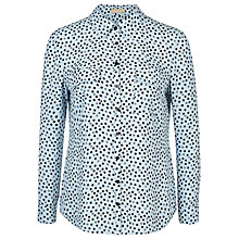 Buy Planet Spot Print Blouse, Multi Blue Online at johnlewis.com