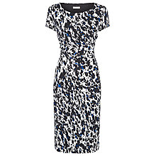 Buy Planet Animal Print Jersey Dress, White/Multi Online at johnlewis.com