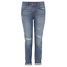 Buy Karen Millen Distressed Vintage Skinny Jeans, Denim Online at johnlewis.com