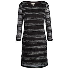 Buy Celuu Lacey Knitted Tunic Dress, Black Online at johnlewis.com