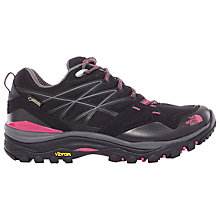 Buy The North Face Hedgehog Fastpack GTX Women's Hiking Shoe, TNF Black/Society Pink Online at johnlewis.com
