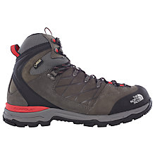 Buy The North Face Verbera Hiker Gore-Tex II Men's Hiking Boots, Graphite Grey/Red Online at johnlewis.com