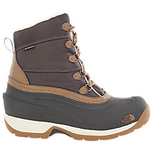 Buy The North Face Chilkat III Women's Snow Boots, Grey/Brown Online at johnlewis.com