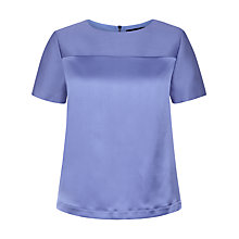 Buy Jaeger Wool Silk Tonal Top Online at johnlewis.com