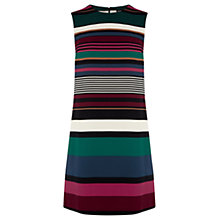 Buy Warehouse Striped Shift Dress, Multi Online at johnlewis.com