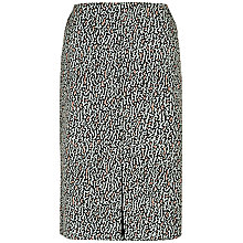 Buy Jaeger Ripple Jacquard A-Line Skirt, Multi Online at johnlewis.com