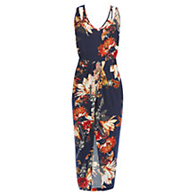 Buy Warehouse Summer Floral Midi Dress Online at johnlewis.com