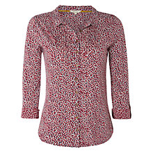 Buy White Stuff Lotus Print Jersey Shirt Online at johnlewis.com