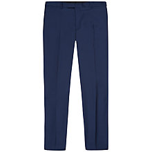 Buy Jaeger Wool Twill Modern Fit Suit Trousers, French Navy Online at johnlewis.com