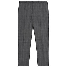 Buy Jaeger Prince of Wales Check Slim Fit Suit Trousers, Grey Online at johnlewis.com