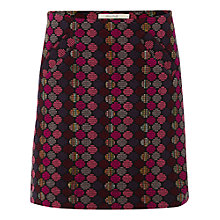 Buy Oasis Rydell Skirt, Plum Online at johnlewis.com