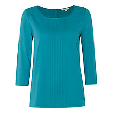 Buy White Stuff Millie Jersey T-Shirt, Teal Online at johnlewis.com